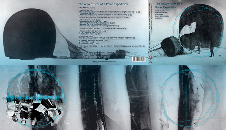 The Adventures of a Polar Expedition. Cover udfoldet